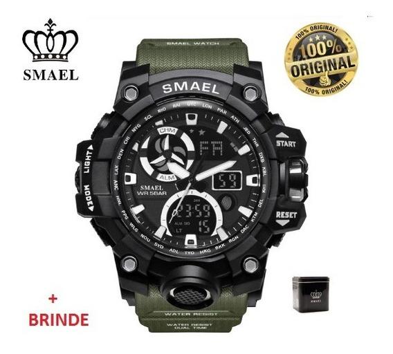 Relógio Esportivo Smael Mod. Novo 1545c C/caixa Prova D