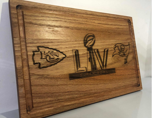 Tabla Para Picar, Edicion Super Bowl Lv
