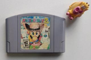 Mario Party 2 Nintendo N64 Garantizado * Mundo Abierto Vg *