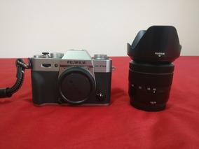 Câmera Fujifilm X-t10 Prata 16-50 Mirrorless Fuji