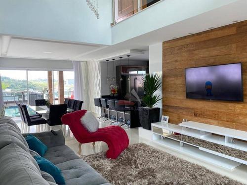 Casa Com 3 Dormitórios À Venda, 240 M² Por R$ 1.480.000 - Aruã - Mogi Das Cruzes/sp - Ca0337