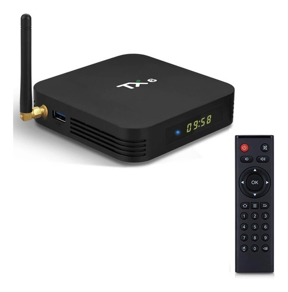 Tv Box Tx6 3gb Ram 32gb Rom Android 9 Transforma Smart Tv