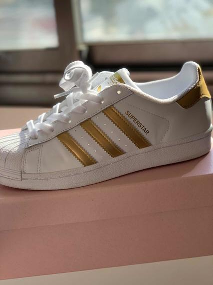 adidas Superstar Original Pipeta Dorada