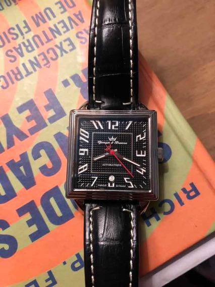 Relógio Automático Clássico (francês, Yonger & Bresson)