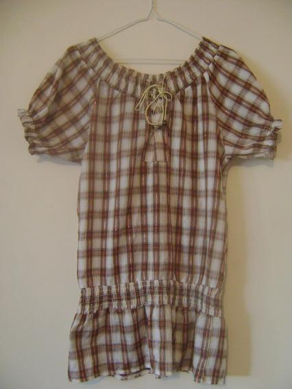 Remate Camisa De Cuadros Para Dama