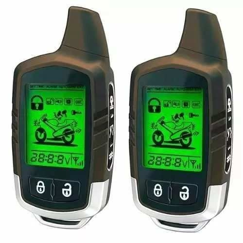 Alarme Para Moto Knup Mt-01 3.500m Visor Aviso Roubo Queda