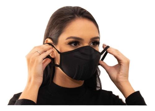 Imagem 1 de 4 de Kit C/ 3 Máscaras De Proteção Lavável B-mask Hipoarlergênica