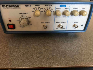 Bk Precision (4001a) 4mhz Functional Generator