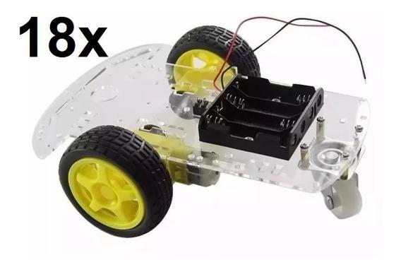 Lote Cliente 18 Carrinho Componentes Eletronicos Pra Robotic
