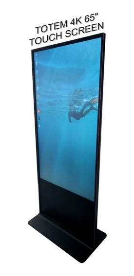 Totem 4k Touch Screen 65 Com Computador