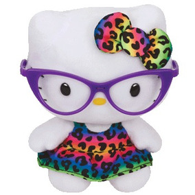 Pelúcia - Beanie Babies Disney Hello Kitty Fashion