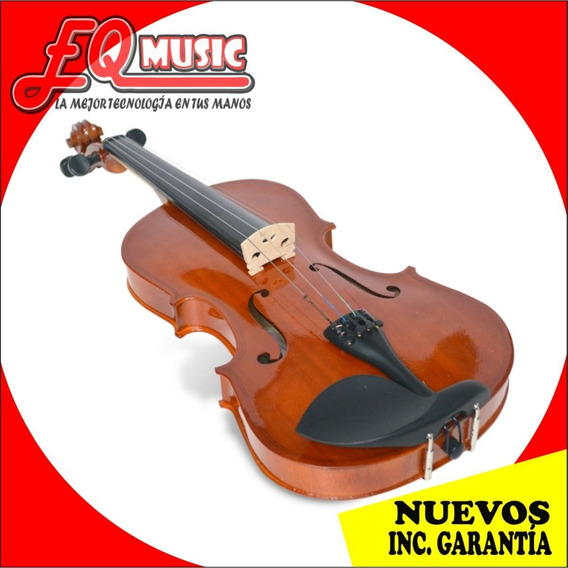 Violin Orich 3/4 Con Estuche Correa Resina Nuevos De Paquete