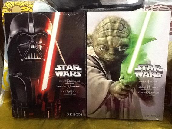 Dvd Star Wars A Coleção Completa 6 Filmes