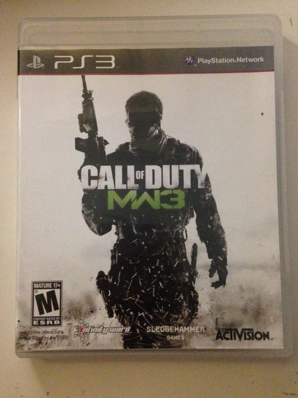 Call Of Duty Mw3 Playstation 3 Activision Midia Fisica 79,97