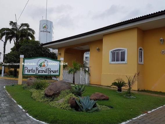 Apartamento Para Venda Em Parnamirim, Praia De Pirangi - Porto Brasil Resort, 3 Dormitórios, 3 Suítes, 5 Banheiros, 4 Vagas - Ap0817