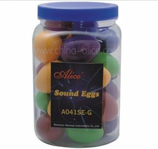 Huevos Ritmicos Shakers Alice X Unidad Variedad De Colores