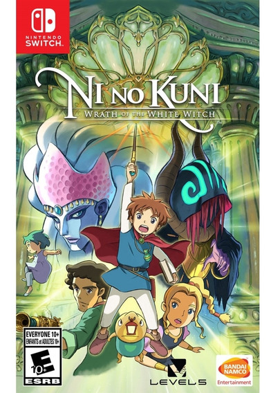 Ni No Kuni Wrath Of The White Witch Switch Mídia Física Novo