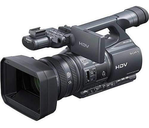 Filmadora Hdv Profissional 3ccd Sony Hdr-fx1000 Conservada