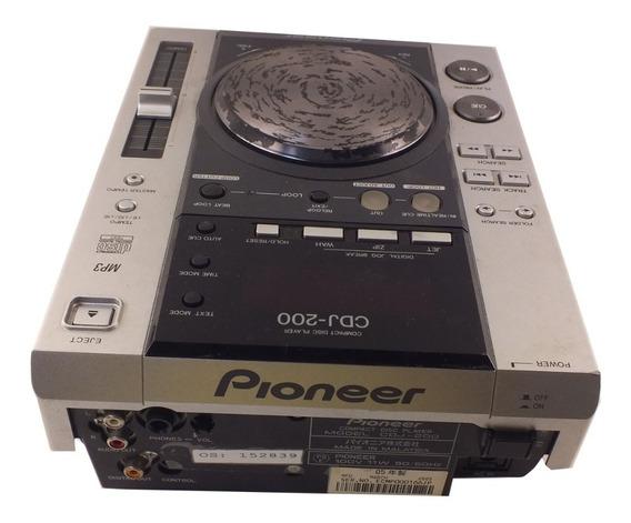 Mesa Dj Pioneer Cdj-200 110v Mp3 Defeito Leitor De Cd A9966