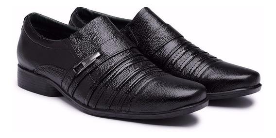 Sapato Masculino Casual Social Couro Legitimo Frete Gratis
