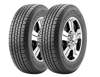 Kit X 2 Bridgestone 245 70 R16 Dueler H/t 684 Iii 18 Cuotas