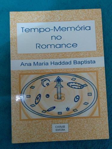 Livro, Tempo-memoria No Romance
