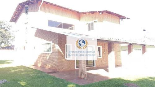 Casa Com 4 Dormitórios À Venda, 345 M² Por R$ 2.200.000,00 - Barão Geraldo - Campinas/sp - Ca1383