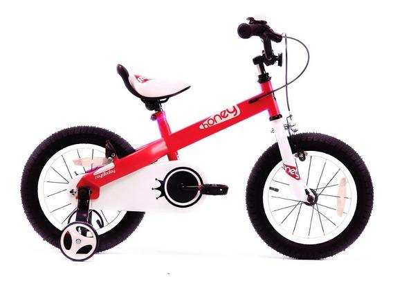 Bicicleta Infantil Royal Baby Honey Niña Niño Rodado 14 - Um