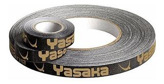 Side Tape Yasaka 10mm Preto E Dourado