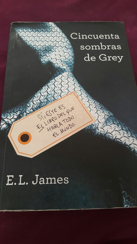 Libro  Cincuenta Sombras De Grey  De E. L. James