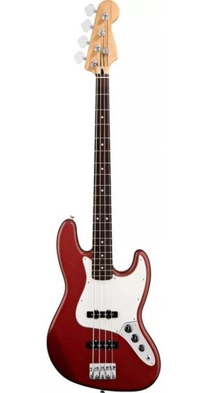 Bajo Eléctrico (tipo Fender) 4 Cuerdas Con Forro Y Cable