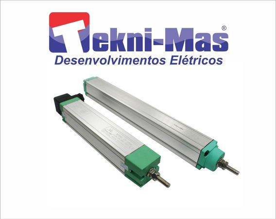 Régua Potenciométrica 375mm Linear De Posição Sensor Ktc375