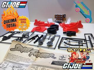 Gi Joe 1993 Karatê Chopper - Nunca Montada! - Estrela/capcom
