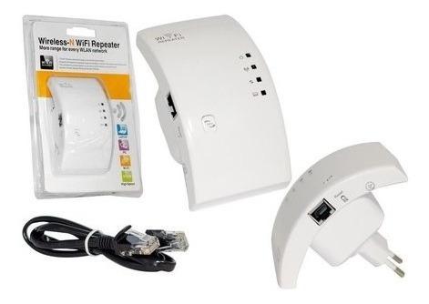 Repetidor De Sinal Amplificador Wireless Wifi 300mbps Barato
