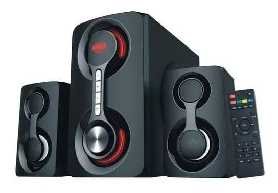 Caixa De Som Bluetooth2.1 Com Aux Usb Sd 60w - Xdg-12