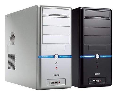 Imagem 1 de 4 de Pc Intel Core I5 3ª Ger 8gb Ssd 120gb Fonte 200w Gabin Prata