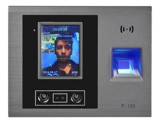 Reloj Checador Facial Huella Usb Touch Control Empleados Bio