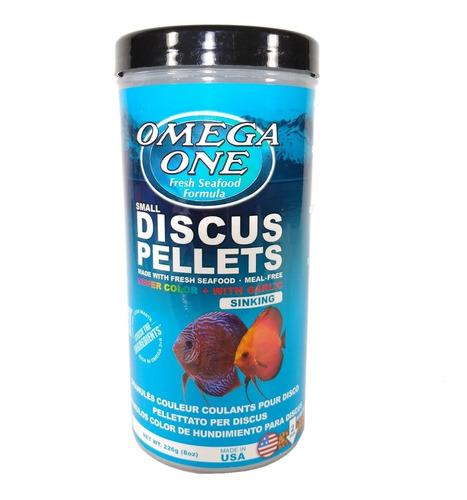 Super Color Discus Pellets 226gr Omega One Para Peces Disco
