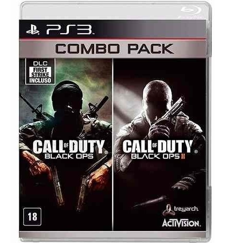 Call Of Duty: Combo Pack - Ps3 Call Of Duty Black Ops Cod Bo