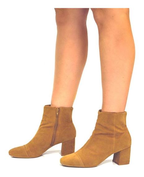 Bota Block Heels Salto Bloco Preto Lurex Brilho R903