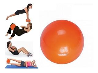 Kit 2 Bolas Over Ball 25 Cm Liveup Inflável Pilates Soft Bal