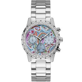Relógio Guess Feminino Confetti 92695l0gsna1 Prateado