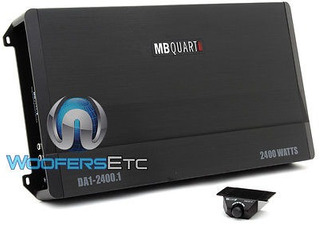 Mb Quart Da1 2400.1 Amplificador Monoblock 4800w Pico