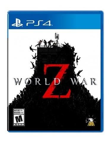 Videojuego Ps4 World War Z Videojuego Ps4 World War Tk606