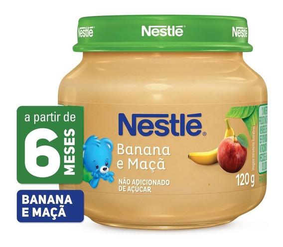 Papinha Nestlé Banana E Maçã 120g