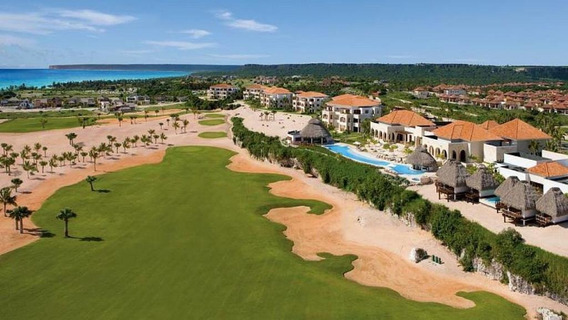 Apartamento 1 Dorm. Vista Golf Y Al Mar. Cap Cana