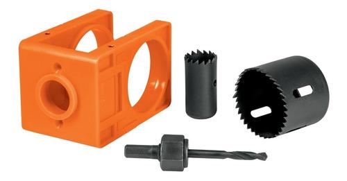 Kit Para Instalar Cerraduras 4 Piezas Y Plantilla Pretul