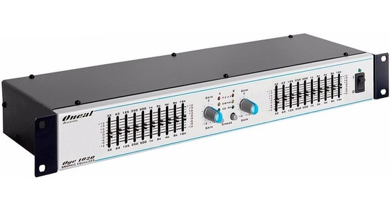 Equalizador Oneal Oge1020 10 Bandas Stereo Gráfico