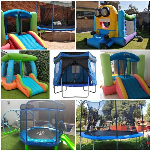 Imagen 1 de 10 de Renta Brincolines Inflables Futbolito Billar Roller Coaster