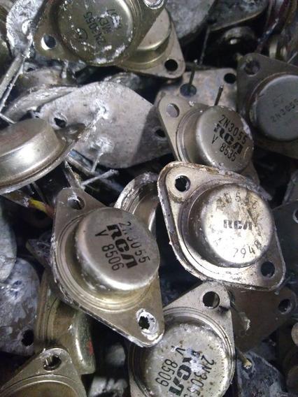 Lote 10 Transistores 2n3055 Toshiba Originais Anos 80 -